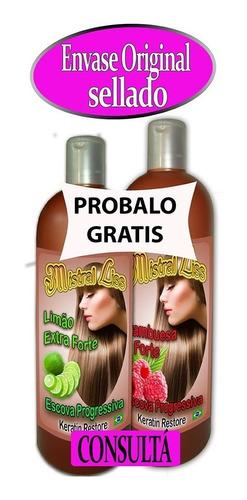 + 1200 ventas brushing keratina el mejor 1 litro 30 aplic.
