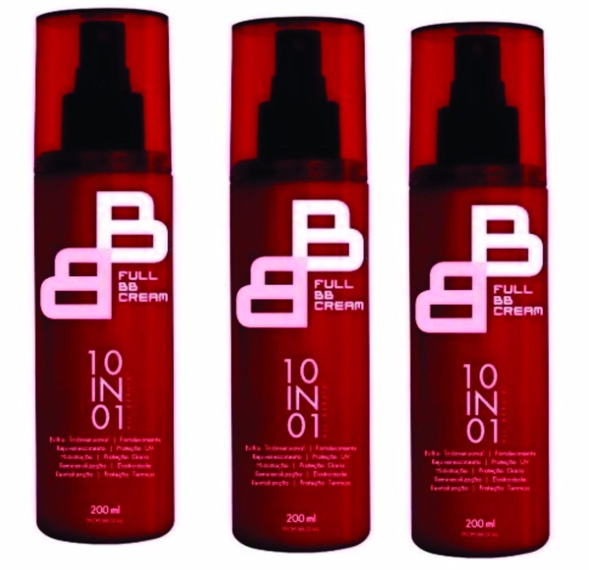 Full Bb Cream 10 Em 01 Felithi - 3 Unidades - Oferta