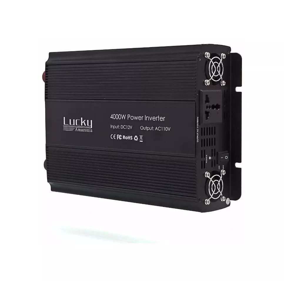Conversor 12v 110/220v Transformador Veicular Inversor 4000w