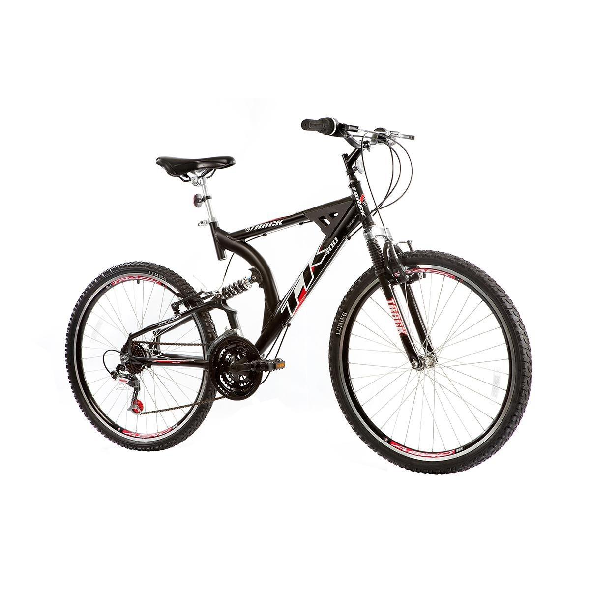 Bicicleta Suspens?o Dupla Alumínio Xk 400 Aro 26 - 21v