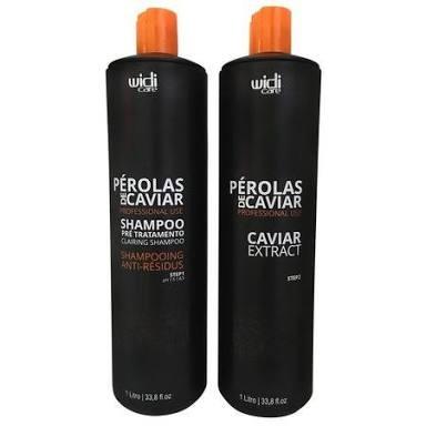 Escova Perola De Caviar 2x1 Litro Widi Care