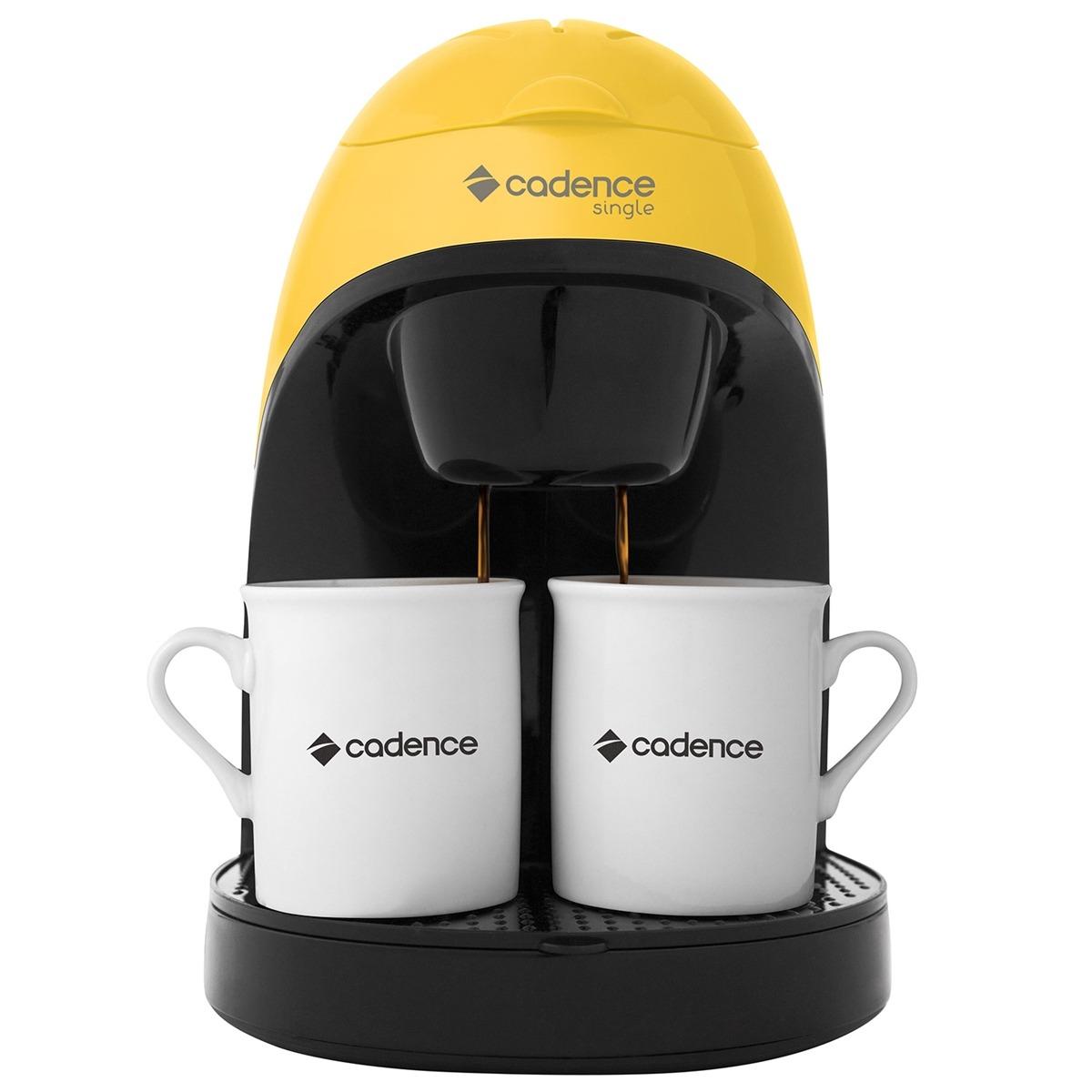 Cafeteira Elétrica Single Colors Amarelo Caf114 Cadence
