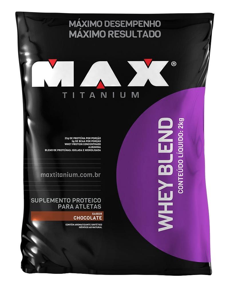 Whey Blend - 2kg - Max Titanium - Promo??o
