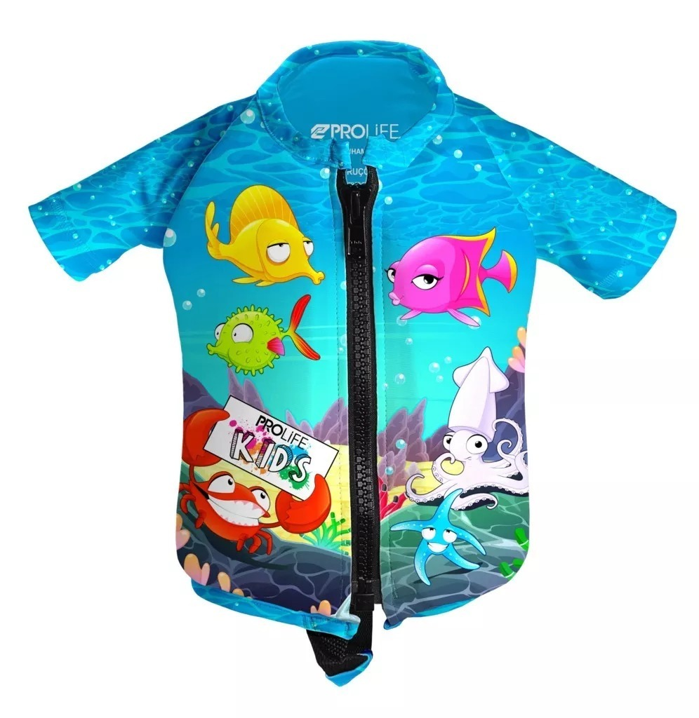 Colete Flutuador Infantil Floater Kids Aquafish Prolife Pisc