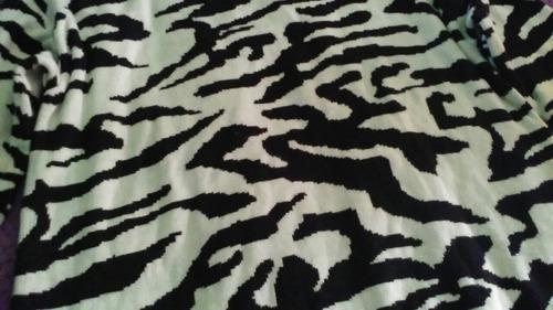 °°° buzo lana animal print (zebra mode) última moda! °°°