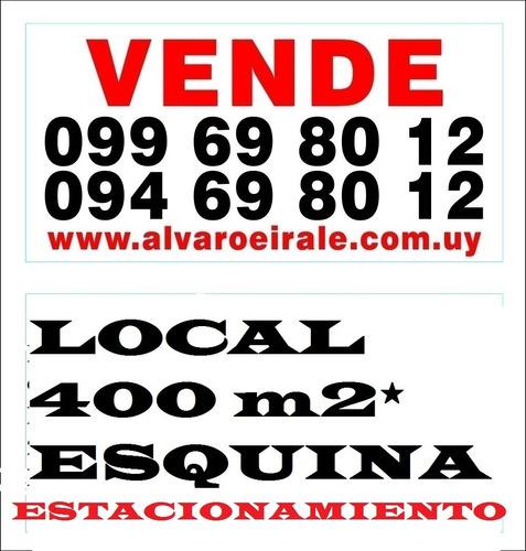 # estacionamiento local 400 m2 esquina