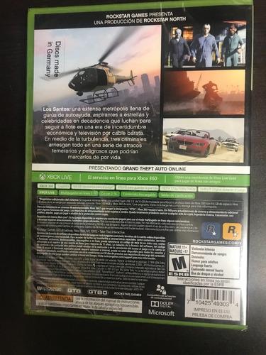 ..:: gta grand theft auto v ::.. para xbox 360 en gamewow