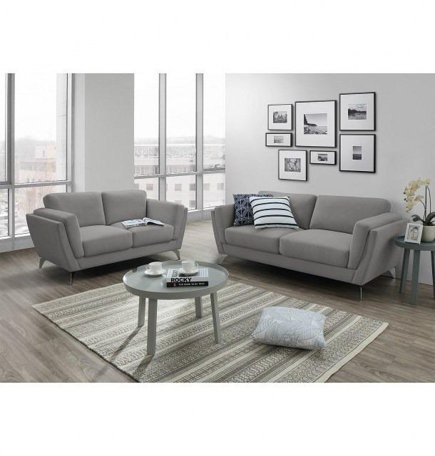 juego sof silln 32 living sala estar turin tela moderno - Living Moderno