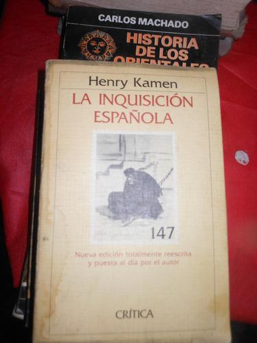 *  la inquisicion española  -   henry kamen