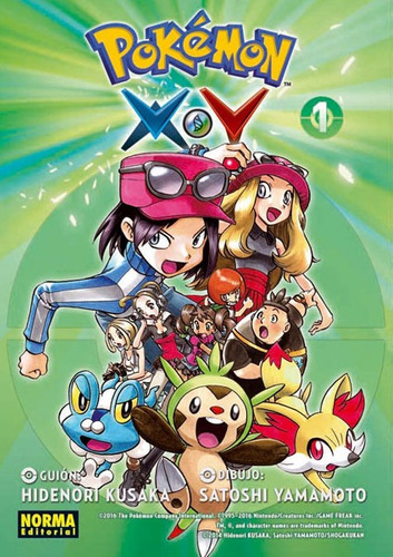 ´ manga pokemon xy 3