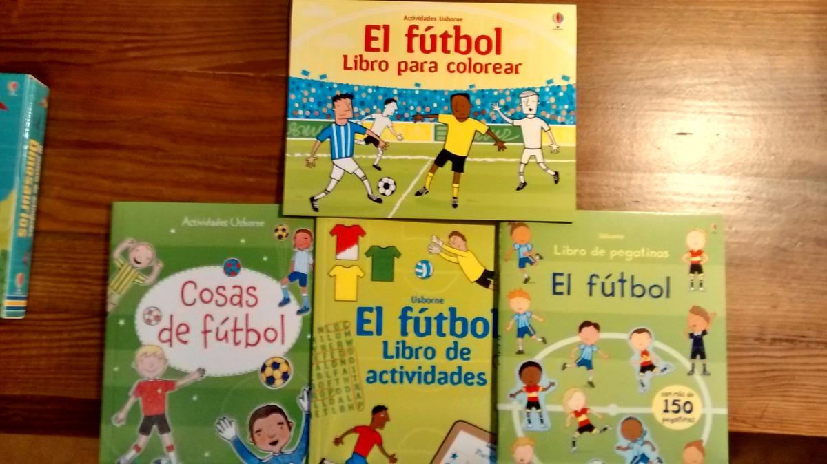 Mi Maletin De Futbol * 4 Libros Activ Y Pegatinas Usborne - $ 460,00 ...