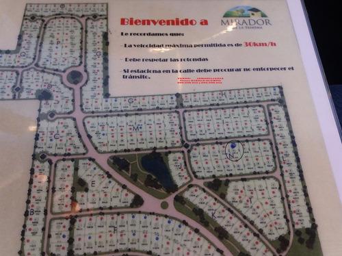 # mirador de la tahona terreno 1.100 m2