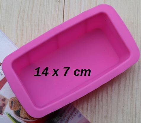 # molde de silicona - rectangulo  (907)