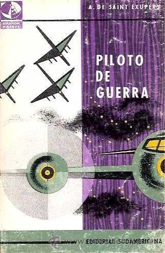 (-) piloto de guerra antoine de saint exupery usado