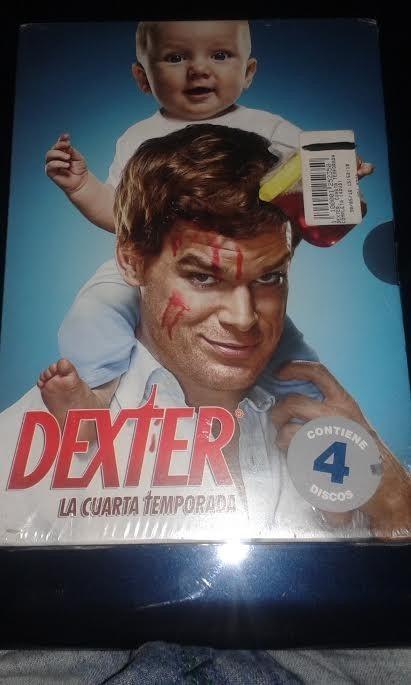 Serie De Tv Original Dexter Cuarta Temporada °°° - $ 990,00 en ...
