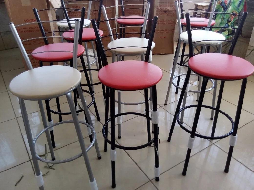 02 Duas Banquetas Alta Frete Gr Tis Cozinha Americana R 190 00