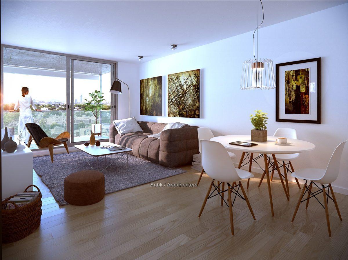 1 dormitorio en br. artigas invertí hoy para le futuro.