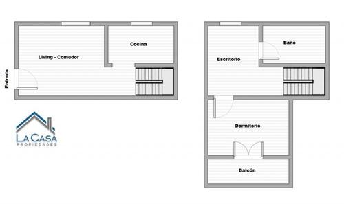 1 dormitorio en parque rodó, duplex, en muy buen estado