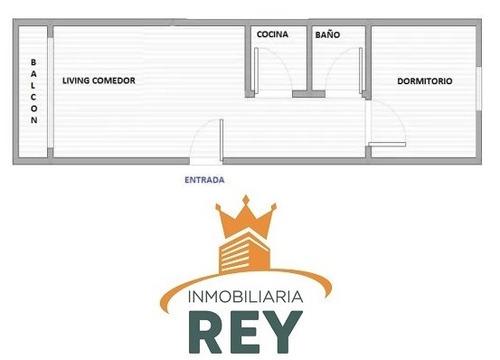 1 dormitorio ideal inversor al frente