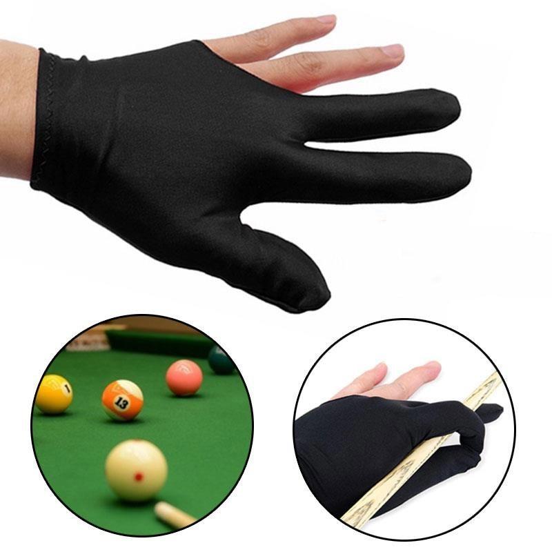 5 par de billar 3 dedos guantes francotiradores