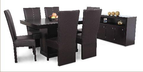 1 Mesa De Madera Para Comedor De 6 Personas 185000 en Mercado