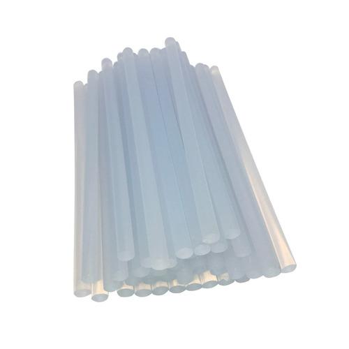 1 pacote 1kg bastão cola quente grossa 11mm transparente