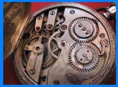 1 reloj bolsillo buenos ayres funciona plata ligne droit