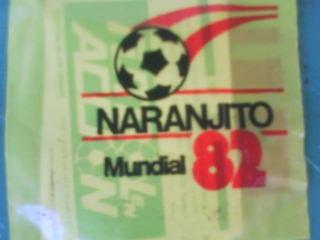 1 sobre cerrado figuritas album naranjito-españa 82