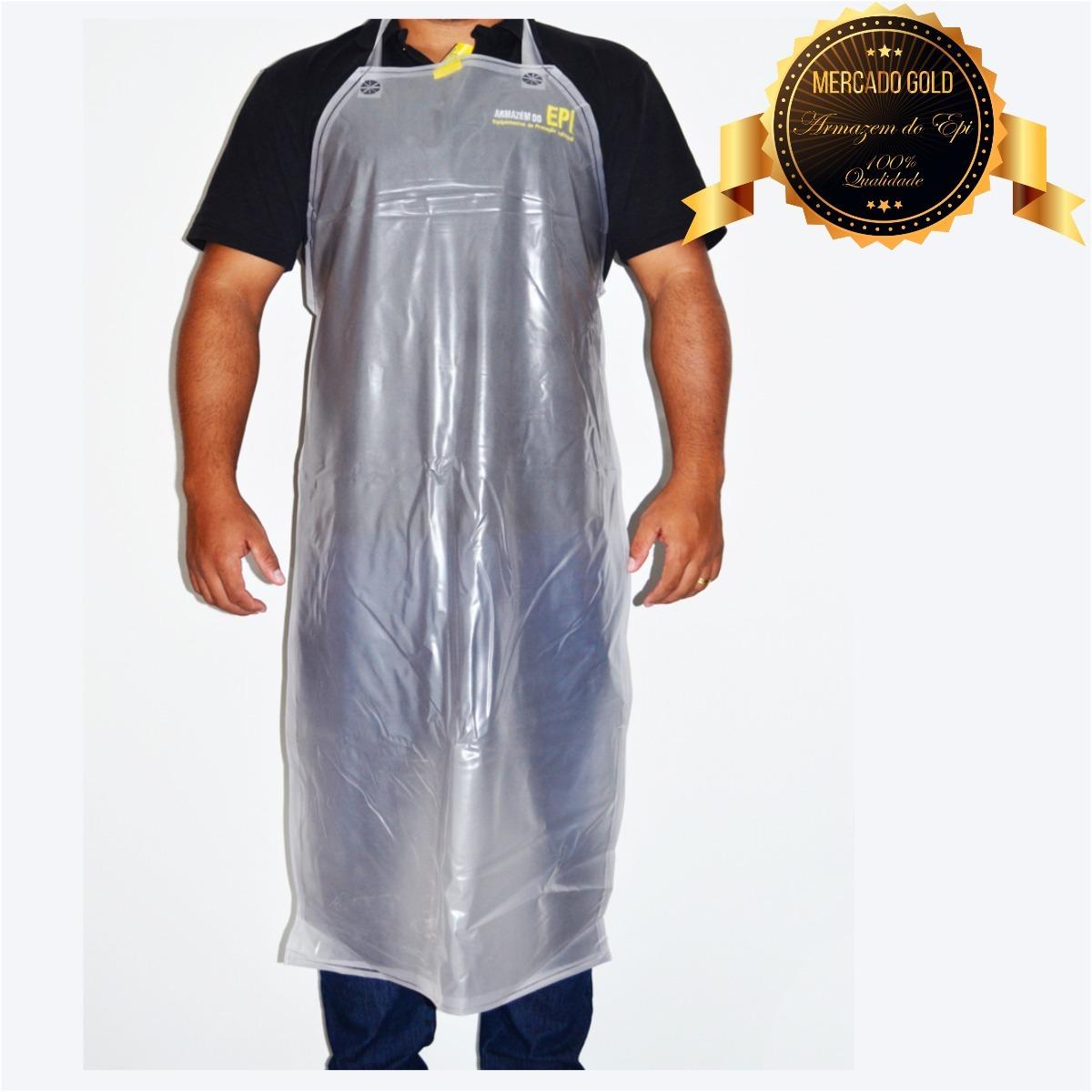 10 Avental Plastico Em Vinil Para Cozinha R 70 00 Em Mercado Livre