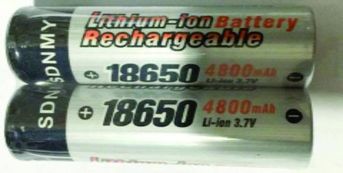 10 bateria o pila  18650