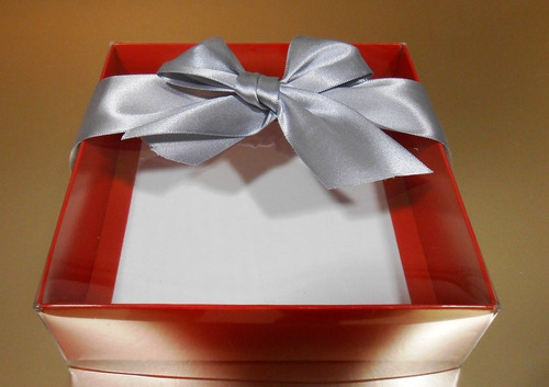 10 cajas elegantes metalizadas para trufas, chocolates