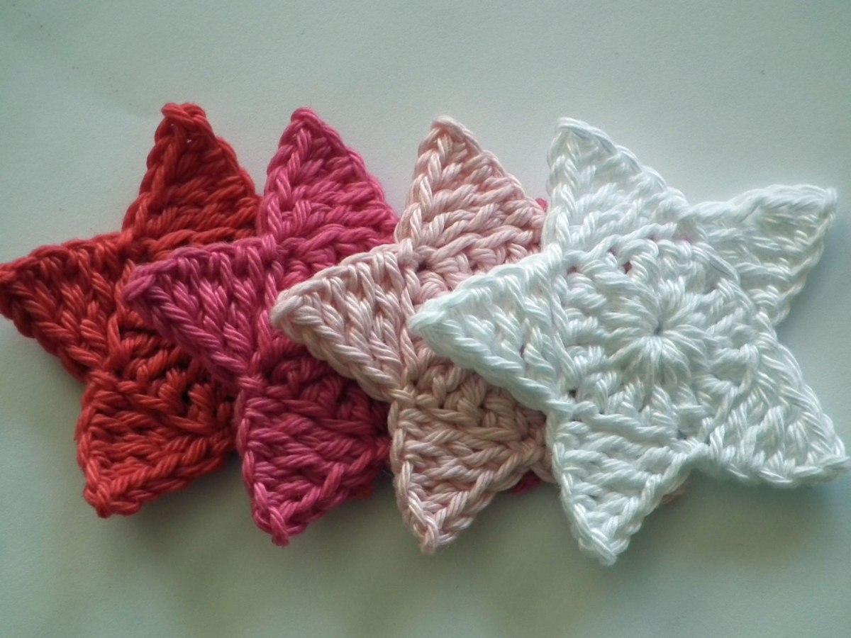 Perfecto Patrón De Crochet Libre De Estrella Motivo - Ideas de ...