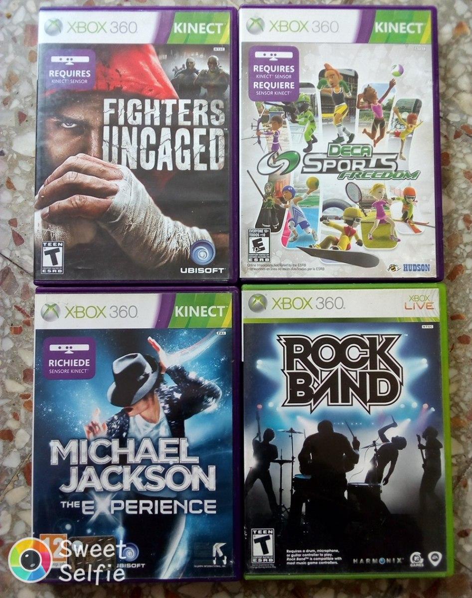 10 Juegos Originales De Kinect Para Xbox 360 2 500 00 En Mercado