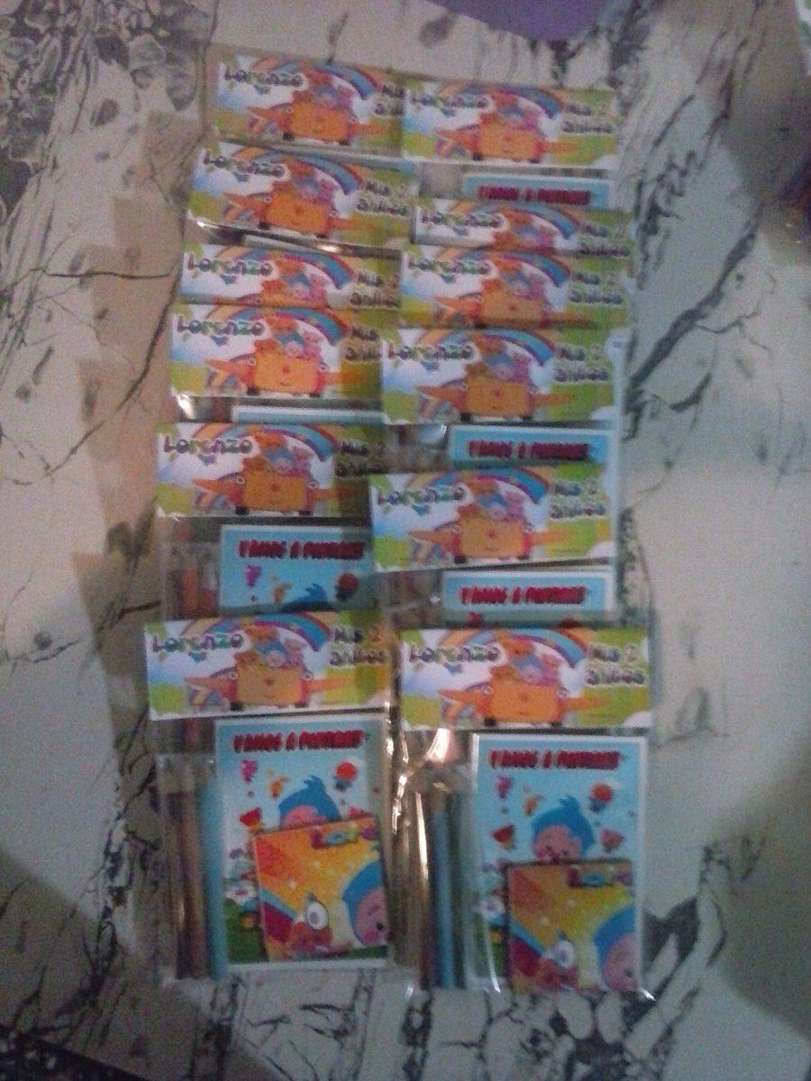 10 Libros Para Colorear En Bolsitas Y Con Colores - Grandes - $ 330 ...