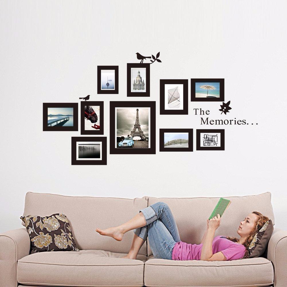 10 Marcos De Fotos Para Pared De Vinilo Adhesivos - $ 230,00 en ...