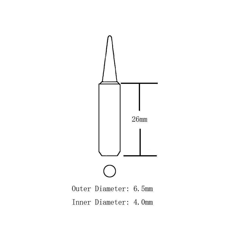 10 Puntas De Hierro Soldador De 2,952.8 ft Para Hakko 936 on