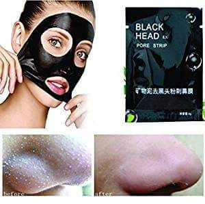 10 unidades mascarilla black head pilaten