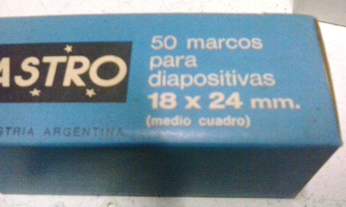 100 Marcos Diapositivas Medida Especial 18 X 24 Mm Medio Cua - $ 200 ...