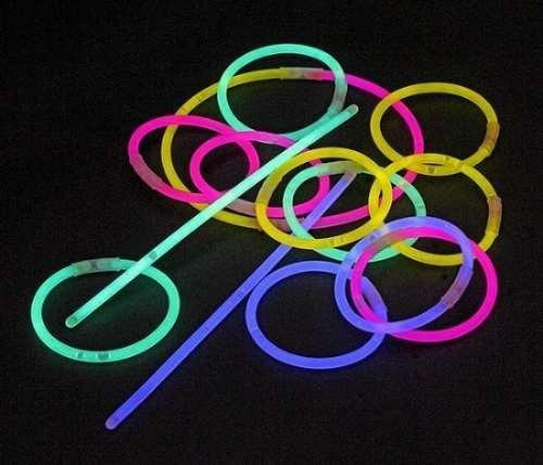 100 pulseras neón cyalume luminosas fiesta boda xv dj luz