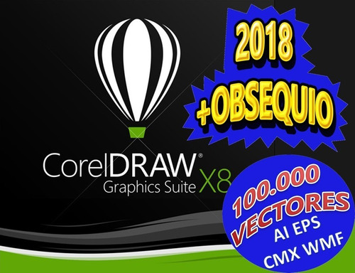 100000 pack vectores corel ia eps cmx wmf mas corel draw x8