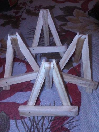 10atriles mini madera c personaje 10x8  pago acordar vendedo