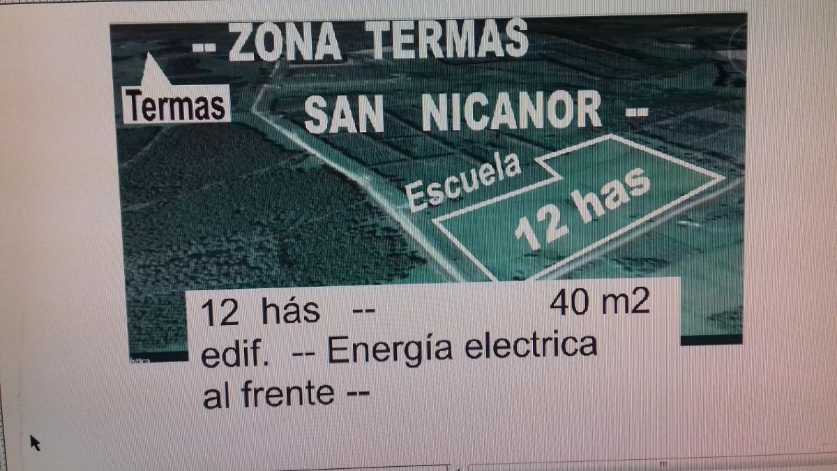 12 has termas san nicanor /paysandu / descanso/producción