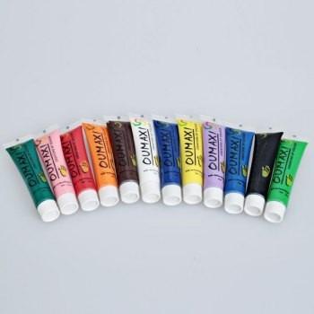 12 tubos de pintura acrilica para decoracion de uñas