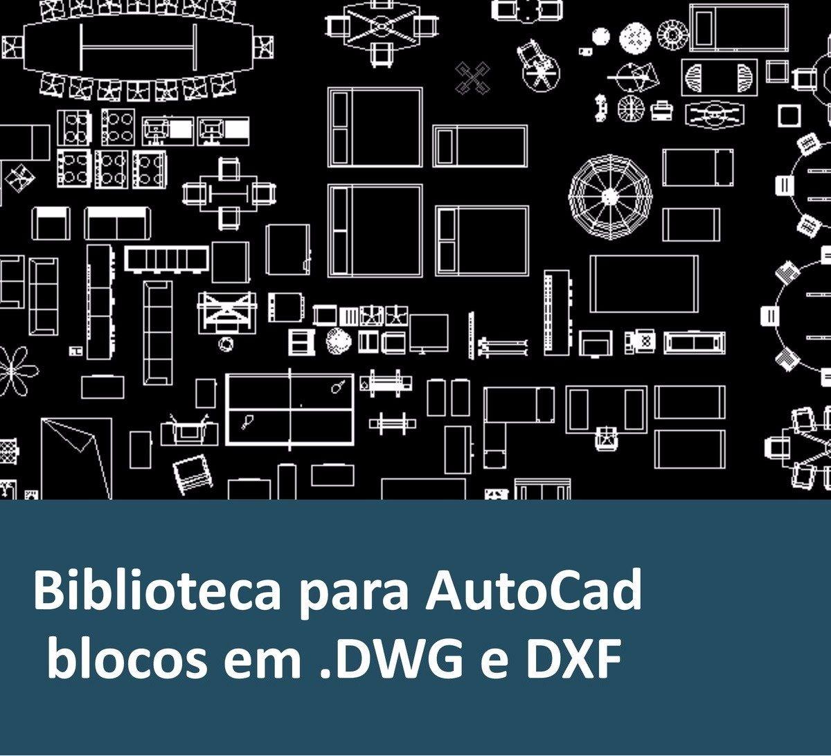 120 Mil Blocos Para O Autocad 2d E 3d Dwg E Dxf R 15 90 Em