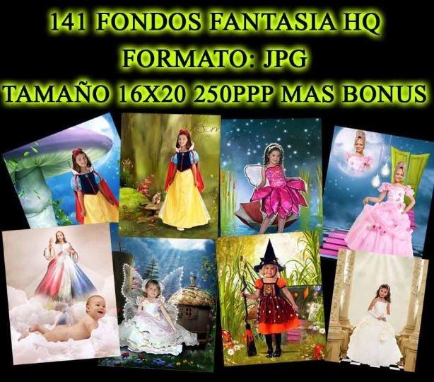 141 Fondos Fantasia 16x20 250ppp Jpg Hd - $ 100.00 en Mercado Libre