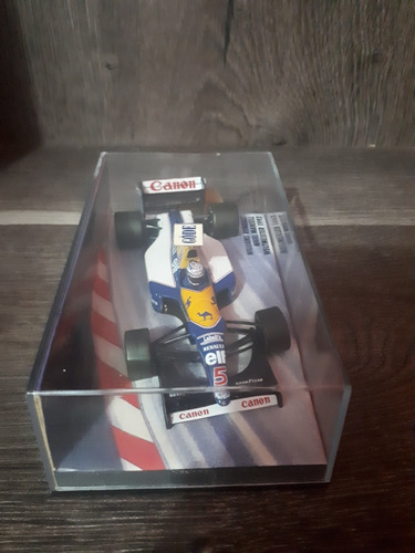 1/43 miniatura minichamps williams mansell 92 campeão f1