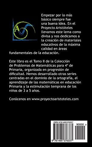 150 Problemas De Matemáticas Para Cuarto De Primaria (tomo - U$S 14 ...