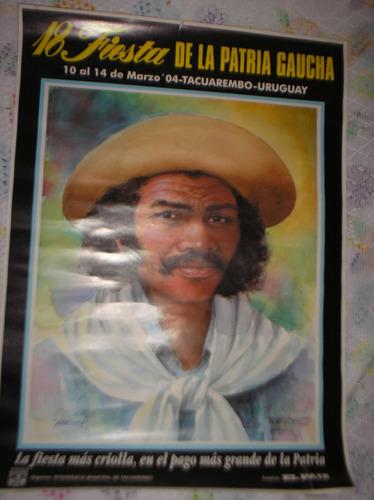 18ª patria gaucha-poster coleccionable (60x43,5)