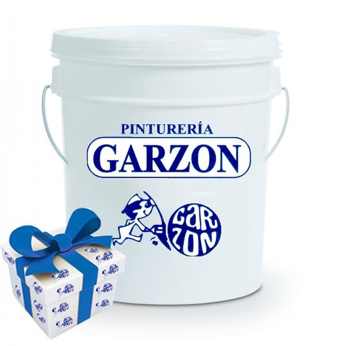 18l pintura latex int ext pintureria garzon + regalo!