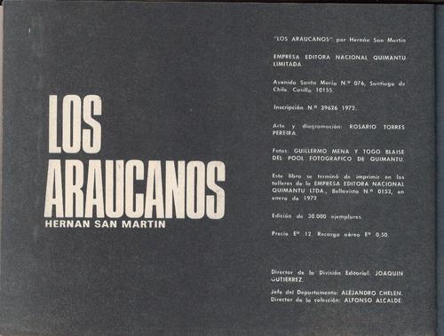 1972 los araucanos hernan san martin nosotros los chilenos